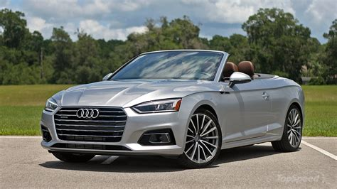 Audi A5 Cabriolet 2018 audi a5 cabriolet driven top speed