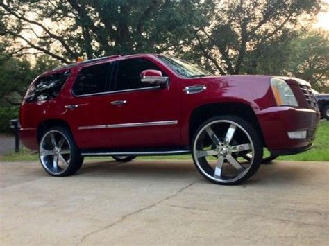 Used Cadillac Rims by Buy Used 2007 Cadillac Escalade 28 Inch Rims Kleanfacer
