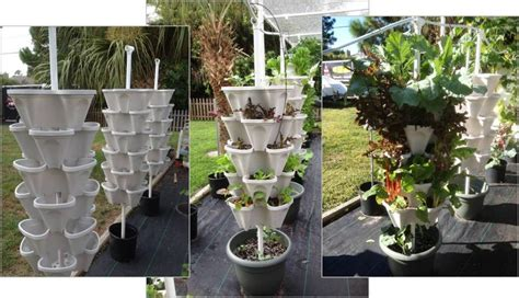 hydroponic vegetable garden kit diy vertical hydroponic 4 tower kit