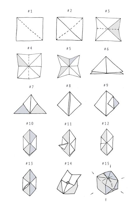 how to make a origami cube diy origami light garland boat vintage diy