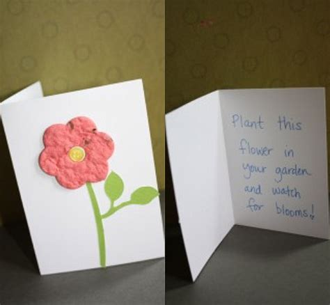 how to make greeting cards with paper make plantable greeting cards using seed paper