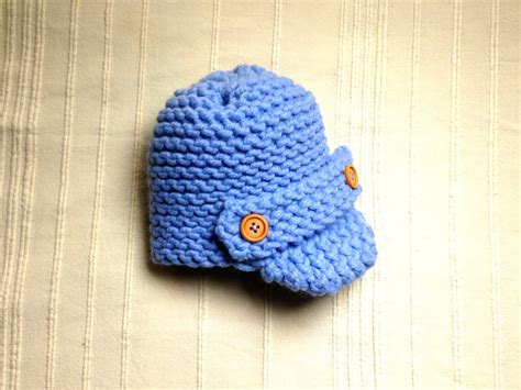 loom knit baby hat how to loom knit a baby visor hat diy tutorial