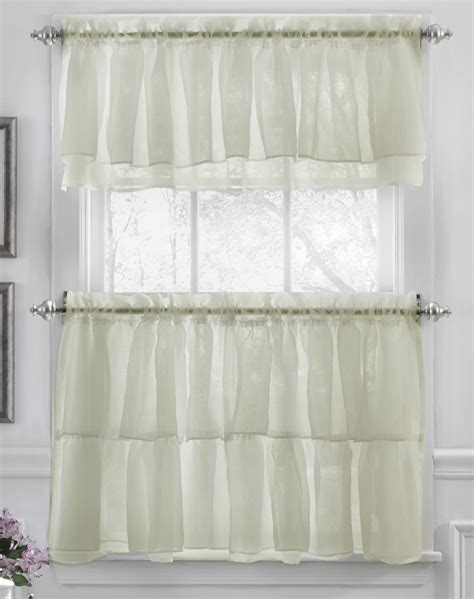 country curtains kitchen country floral embroidered cafe