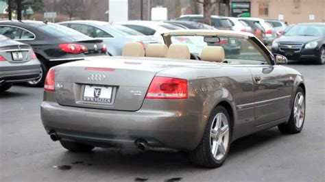 2007 Audi A4 Cabriolet by 2007 Audi A4 Cabriolet 2 0t Luxury Cars Toronto