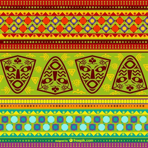 patterns south africa colorful pattern vector free