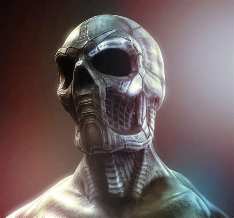 metal skull metal skull by kazlyan on deviantart