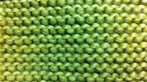 How To Knit The Garter Stitch New Stitch A Day