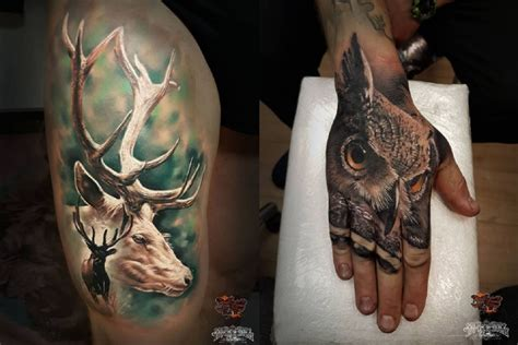 6 outdoor themed tattoo ideas for the inked outdoorsmen