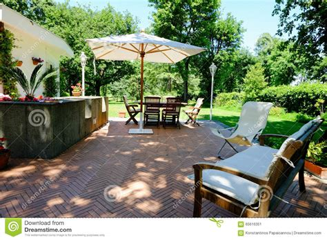 italian patio furniture patio garden furniture stock photo image 65616351