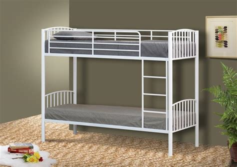 small single metal bed frame metal small single bunk bed in 2ft6 bunk metal frame white