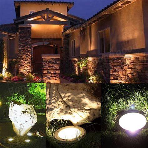 landscape lighting for sale 1w led waterproof outdoor in ground garden path flood landscape light sale banggood