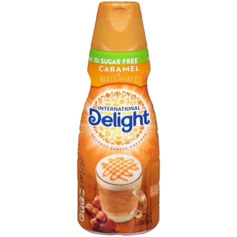 International Delight Sugar Free Caramel Macchiato Coffee Creamer, Quart   Walmart.com