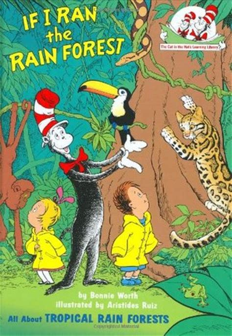 rainforest picture books if i ran the forest all about tropical forests