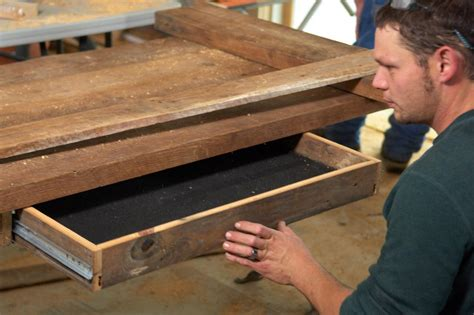 how to make office desk how to build a reclaimed wood office desk how tos diy