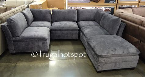 modular sectional sofa costco costco 6 pc modular fabric sectional 899 99 frugal hotspot