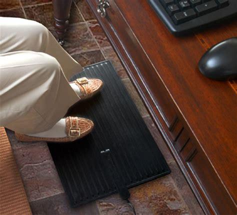 heated floor mat desk foot warmer mat for standing or desk use