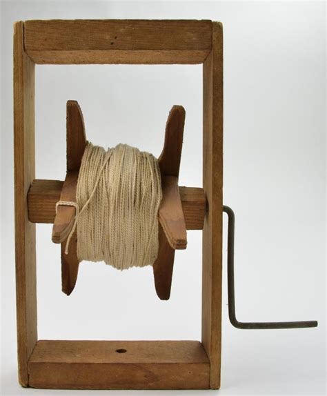 wooden string vintage wooden kite string winder with metal handle 8 quot