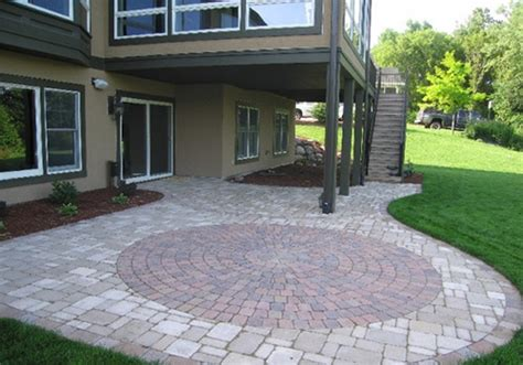 designs for patio pavers 25 fascinating paver patio designs creativefan