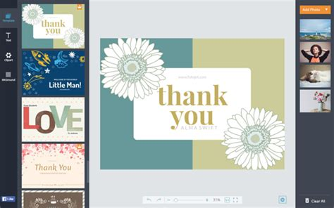 make a thank you card free thank you cards make free printable thank you cards