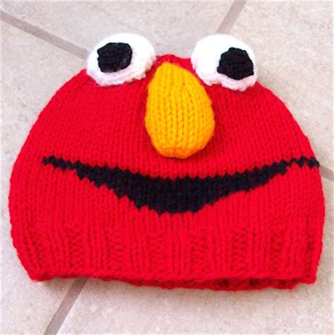 elmo knitting pattern free knitting patterns for elmo hat knitting pattern