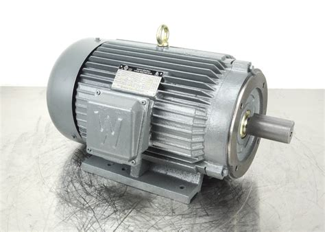 Worldwide Electric Motors by Worldwide Electric 10hp 215tc Motor New Pumprack
