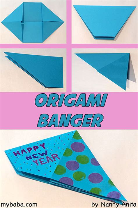 origami banger how to make an origami banger ring 2017 in with a
