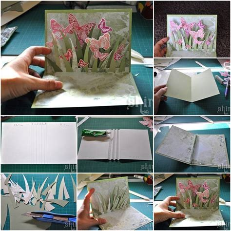 how to make 3d greeting cards diy 3d butterfly greeting card