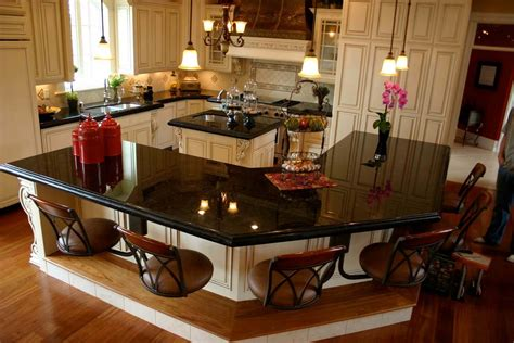 Kitchen Island With Granite Countertop 68 deluxe custom kitchen island ideas jaw dropping designs