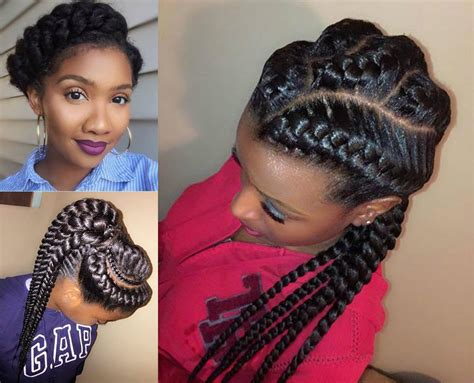 braids with hairstyles amazing goddess braids hairstyles hairdrome