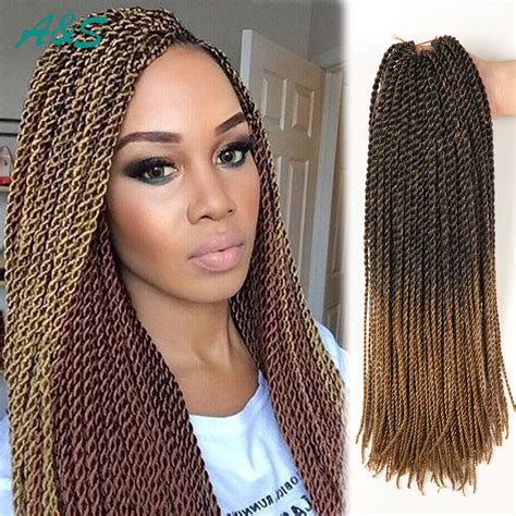 senegalese twist hair brand sexy 11 colors crochet hair 18 inch thin senegalese twist