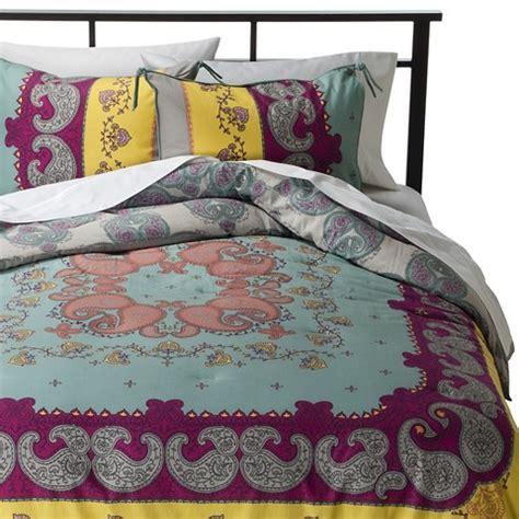 bed sets target lola reversible comforter set multicolor boho target