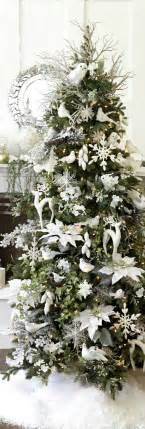 all white tree decorations tree white decorations