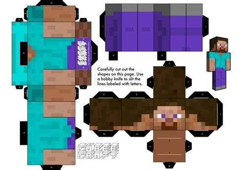 mine craft paper 11 powerful paper craft minecraft steve build your own