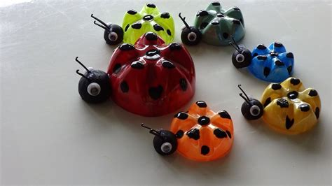 plastic bottle craft projects recycled ideas for ladybug s family from plastic