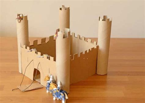 castle crafts for 25 best ideas about cardboard castle on