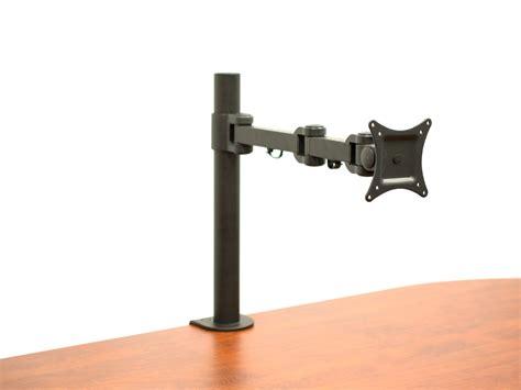 computer monitor mounts desk av 13 to 27 single monitor desk mount computer