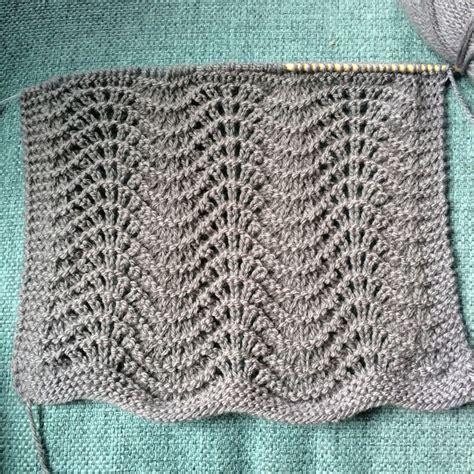 feather and fan knitting pattern single skein scarflette free pattern melody s makings