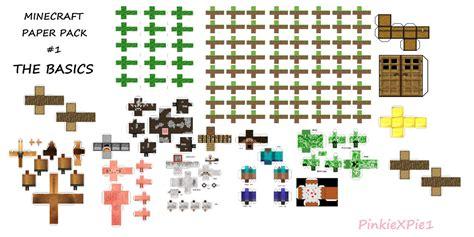 mine craft paper minecraft paper pack aka mpp 1 by pinkiexpie1 on deviantart