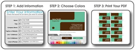make free business cards five graphic makers to create simple design