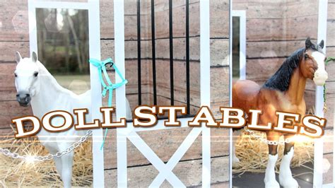 how to make things out of pony diy how to make doll stables handmade doll crafts