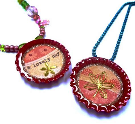 hobby lobby jewelry resin crafts glittered jewelry resin bottle cap pendant
