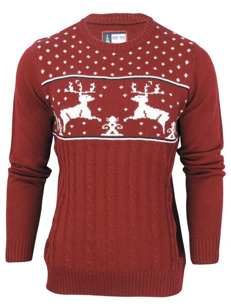novelty knitted jumpers merry knit jumper sweater novelty fairisle