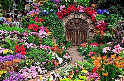 10 floral garden gates in bold color garden club