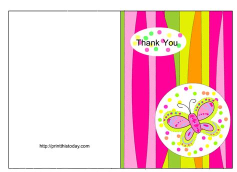 make a thank you card free free to create printable thank you cards black and white
