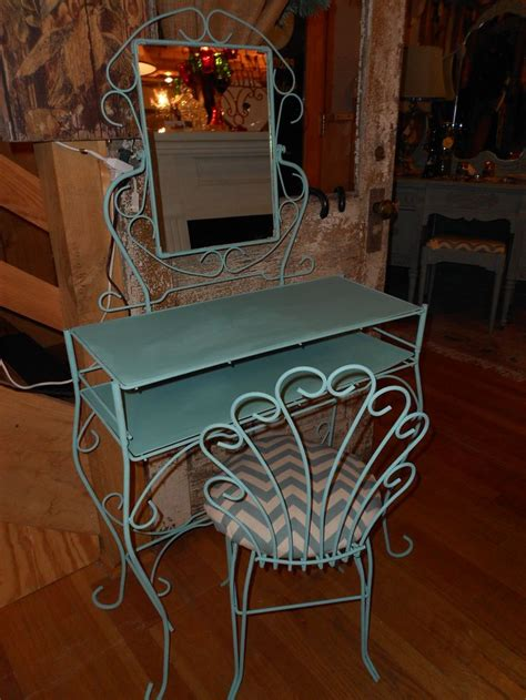 chalk paint metal metal vanity given a facelift with chalk paint