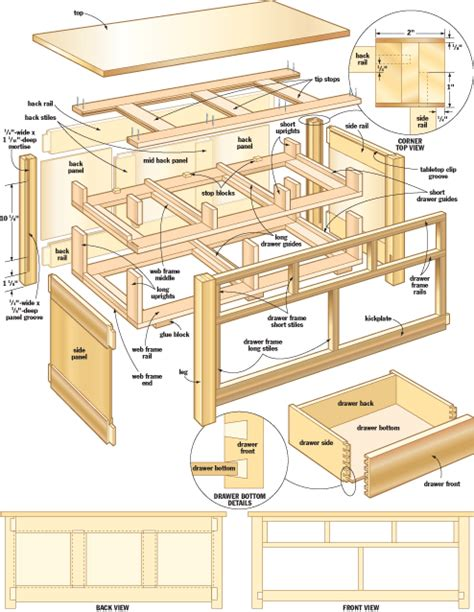 mission woodworking mission table woodworking plans furnitureplans