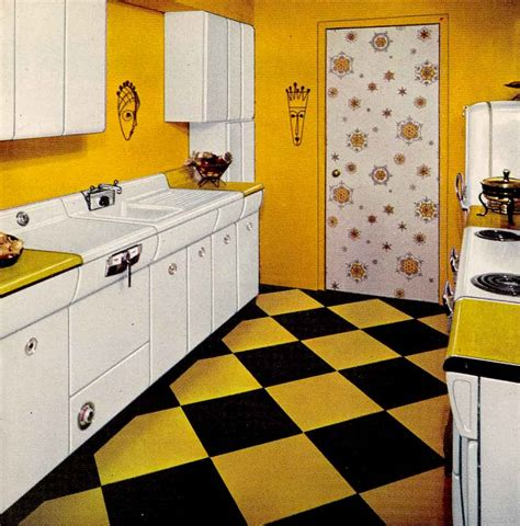 1950s kitchen design six kitchen designs from 1953 avco american kitchens