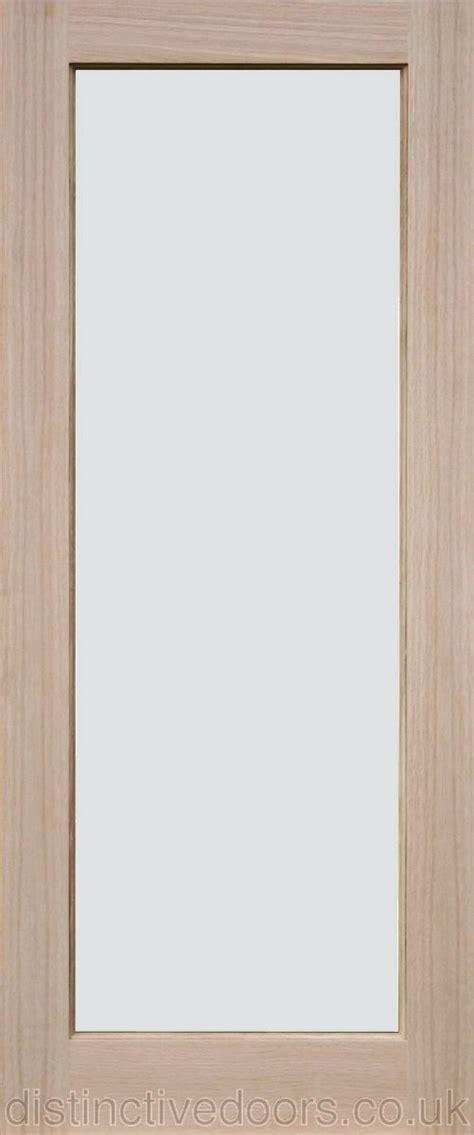 glazed interior doors derwent clear glazed interior oak door