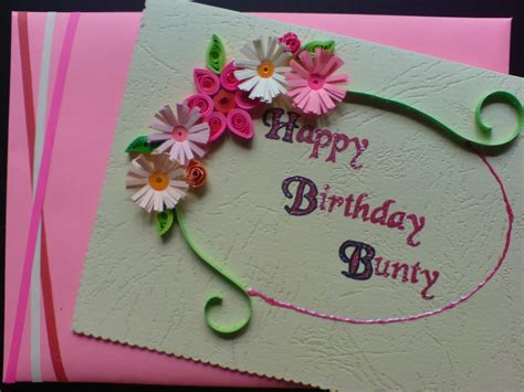 how to make beautiful cards chami crafts handmade greeting cards happy birthday