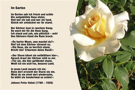 Garten Der Liebe Gedicht by Blumen 171 Meine Internetseite